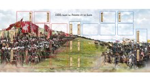Playmat : 1066, Dans la fureur et le sang - FRENCH VERSION