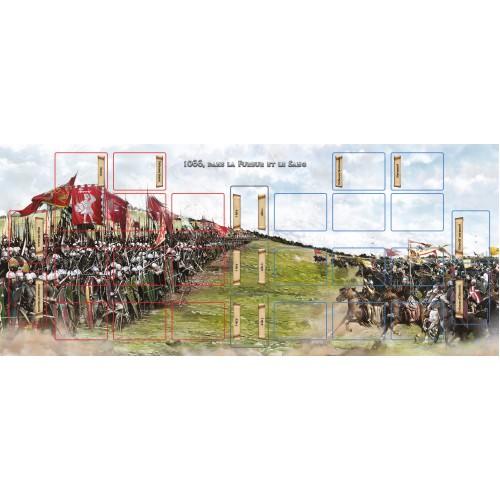 • Playmat : 1066, Dans la fureur et le sang - FRENCH VERSION