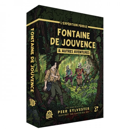 L'Expédition Perdue : La Fontaine de Jouvence - FRENCH VERSION