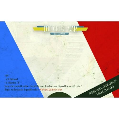 La Grande Guerre : extension Chars 1917 - FRENCH VERSION