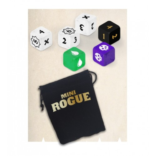 Mini Rogue - Additional Dice + cloth bag