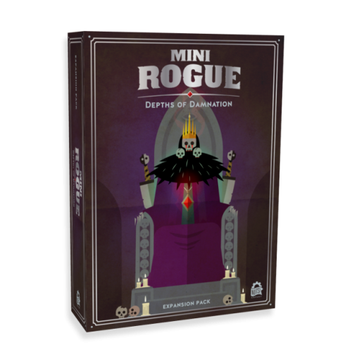 Mini Rogue - Depths of Damnation Expansion - ENGLISH VERSION