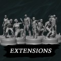 Sub Terra : Figurines Extensions