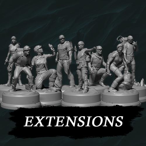 Sub Terra : Figurines Extensions