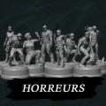 Sub Terra : Figurines Horreurs