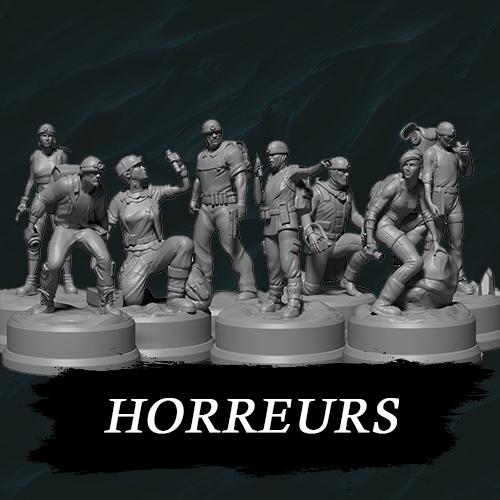 • Sub Terra : Figurines Horreurs